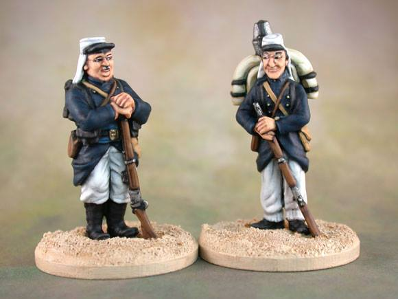 Laurel & Hardy, Beau Hunks, 28mm miniature French Foreign Legion