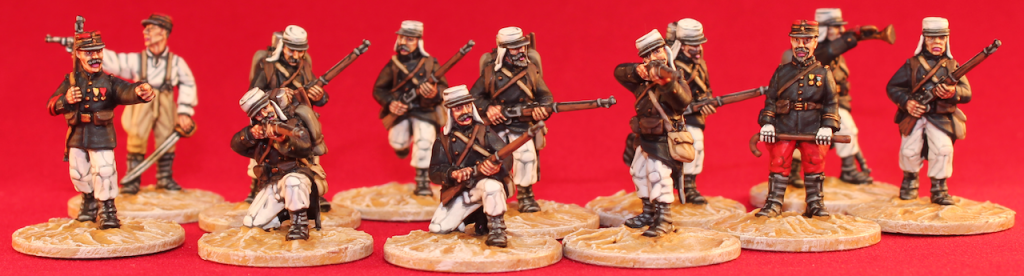 French Foreign Legion from the Exotic Adventures range of 28mm (1\56) miniatures (Packs: FFL1, FFL2 & FFL4)