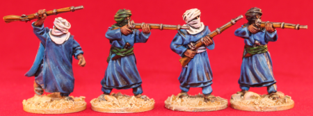 Unfeasibly Miniatures - 28mm Tuareg miniatures from the Exotic Adventures range