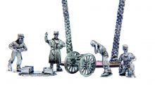At Unfeasibly, we design & produce highly accurate, true scale (1/56) 28mm miniatures in white metal (pewter), for wargames, modellers, collectors. Our Exotic Adventures range, depicts the French Foreign Legion at the turn of the 19th Century in Northern Africa, immortalised in the stories of Beau Geste by P.C. Wren. The range includes Taureg Berbers, who resisted the French colonial invasion of their central Saharan homelands.